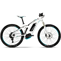 Haibike 2017 XDURO FullLife 5.0 eMTB Full Suspension Electric Bike White
