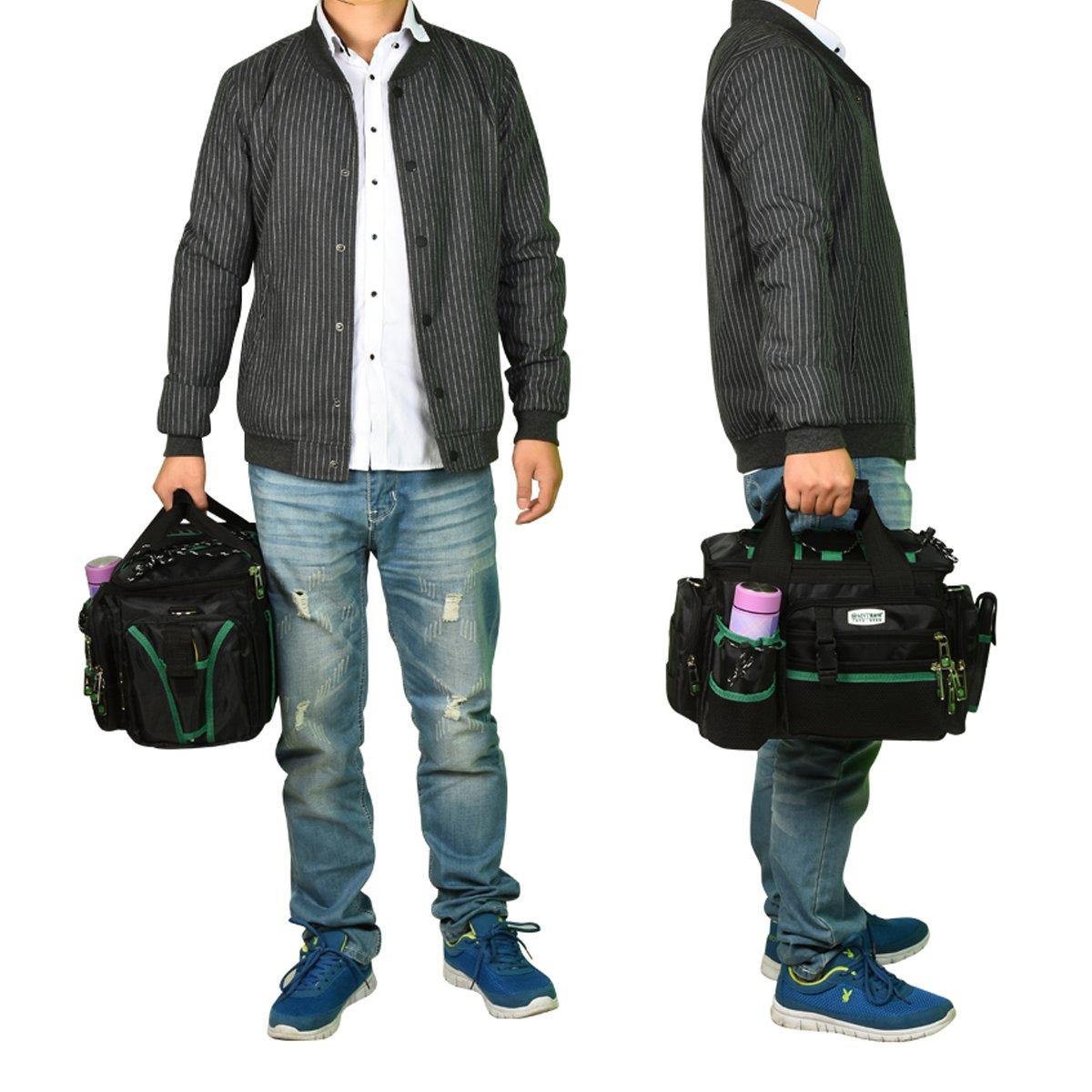 Tool Organizers Electrician Heavy Duty Tool Bag Tote Storage Waterproof Portable