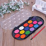 EA-STONE 16Pcs Watercolor Palette with Paint
