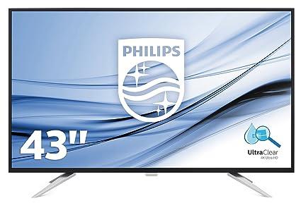 Philips Monitor Bdm4350uc 108cm 42 5in Ips Led 3840x2160 16:9