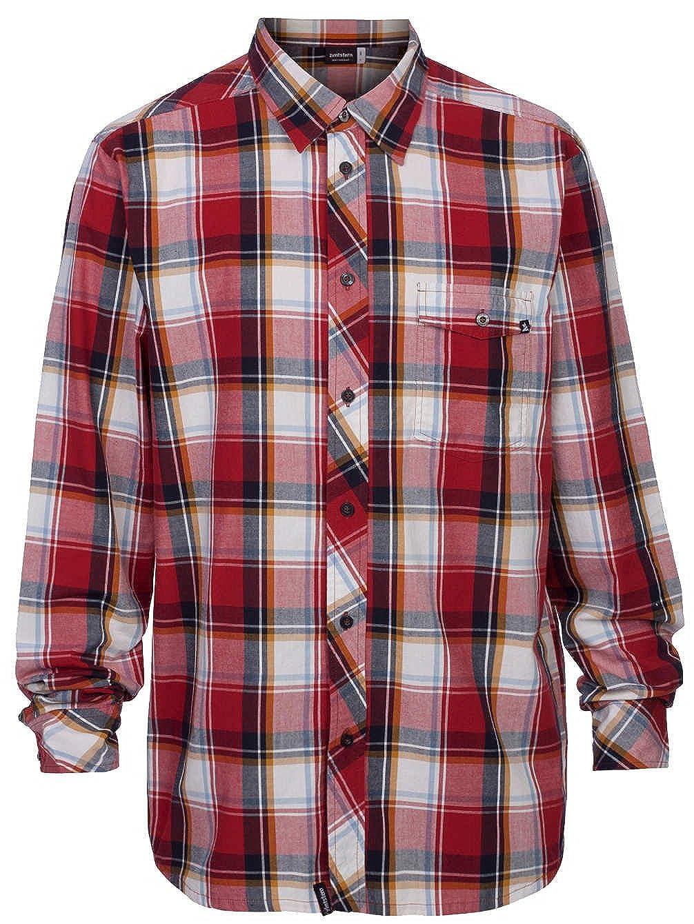 Zimtstern Herren Hemd Hemd Hemd Arnie Shirt LS ef7a16