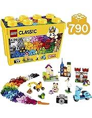 LEGO 10698 Classic Large Creative Brick Box Construction Set, Toy Storage, Fun Colourful Toy Bricks for Lego Masters