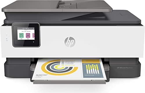 HP OfficeJet Pro 8025 All-in-One Wireless Printer, Smart Home Office Productivity, Instant Ink Amazon Dash Replenishment Ready 1KR57A