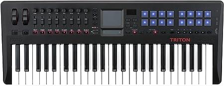Korg Triton TAKTILE-TR49 teclado controlador USB con motor ...