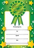 16 A6 Prize Certificate- Great Effort