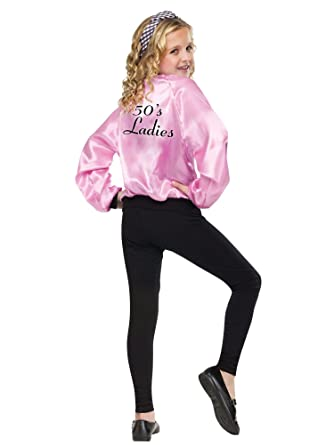 Chaqueta Fun World FW113294-ML Girls Pink Ladies satinado ...