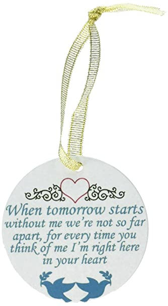 Image Unavailable - Amazon.com: BANBERRY DESIGNS In Loving Memory Christmas Ornament