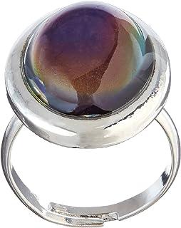 Amazon.com: Original Oval Mood Ring (Adjustable Size) One size fits ...