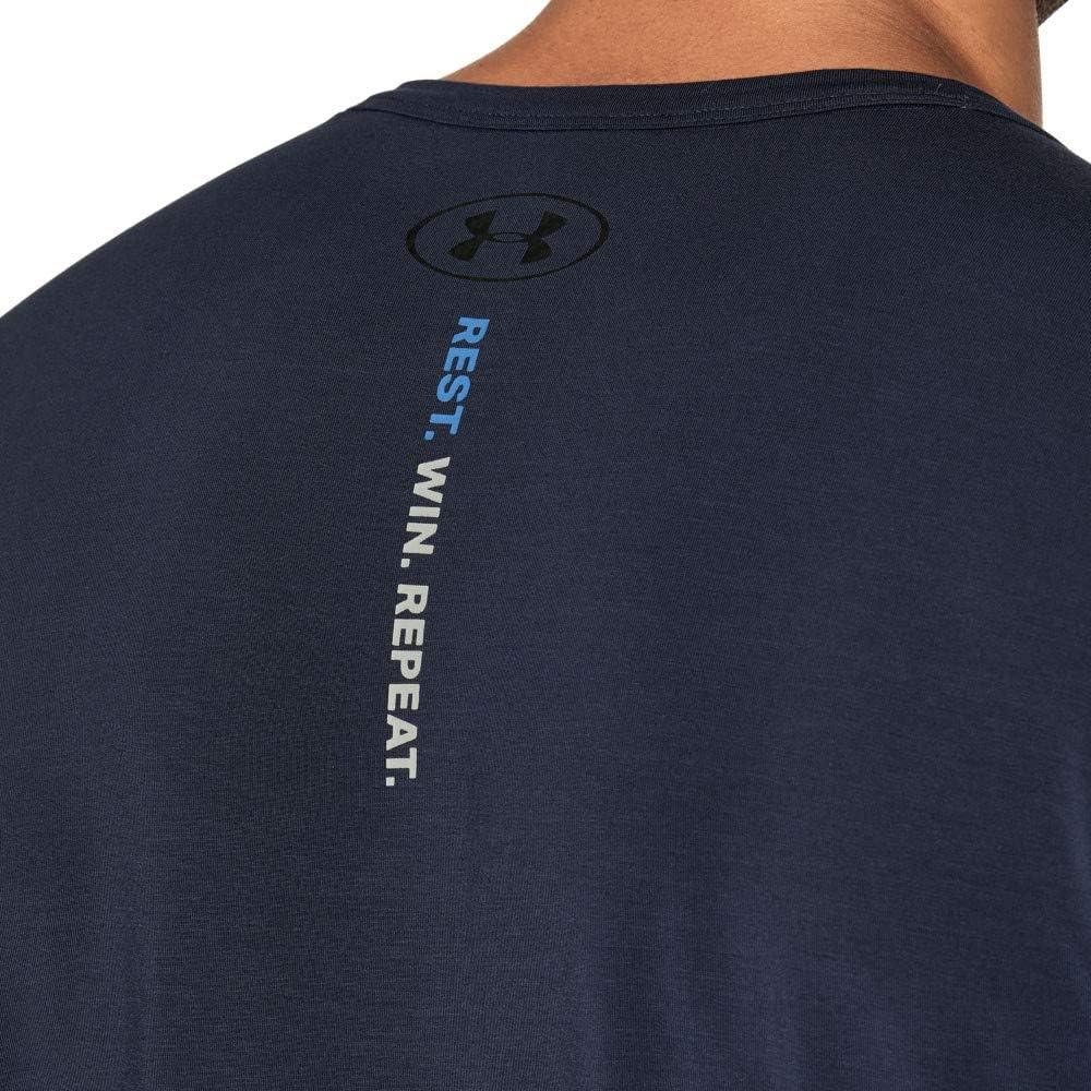 Mens Athlete Recovery Ultra Comfort Henley Indumento da Uomo per Il Recupero degli Atleti Uomo Under Armour
