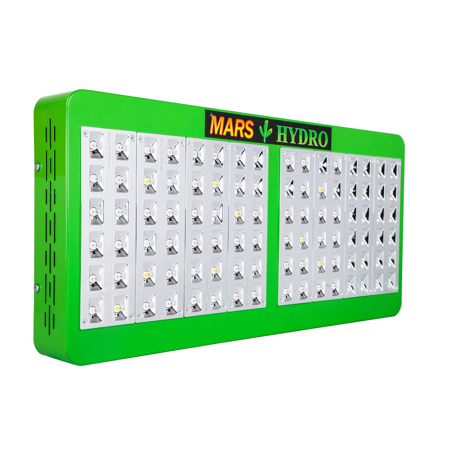 Marshydro Reflector 480W LED Grow Light Full Spectrum for Hydroponic Indoor Plants Veg and Bloom by MARS HYDRO