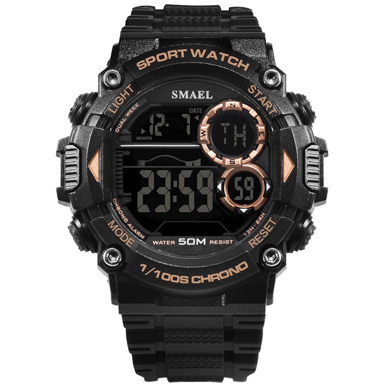 Blisfille Reloj Hombre Ultra Plano Reloj Ultrafino Hombre Reloj 8 Reloj Hombre 46 Mm Reloj Digital Vintage: Amazon.es: Deportes y aire libre