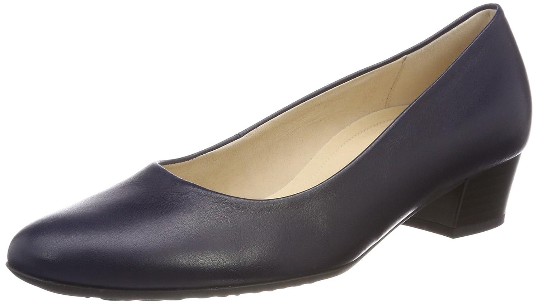 Gabor Shoes Comfort Fashion, Zapatos de Tacón para Mujer 37 EU|Azul (Midnight)