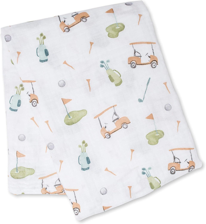 Tosnail Lot de 3 couvertures demmaillotage en mousseline pour b/éb/é Super doux au toucher 119,4 x 119,4 cm
