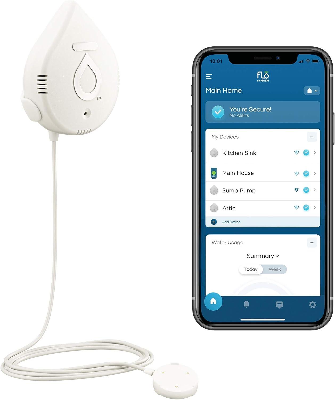 Moen 920-005 Flo by Moen Smart Water Detector, 3-Pack
