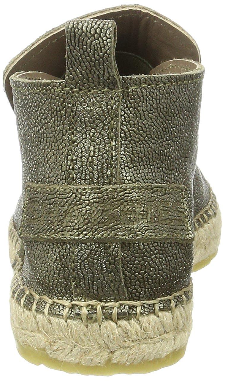 Shabbies Amsterdam Damen Shabbies Espandrilles Slipper Metallic Espadrilles Grün Grün Grün (Dark Olive) d90b69