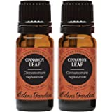 Cinnamon Leaf (100% Pure, Undiluted Therapeutic/Best Grade) Premium Aromatherapy Oils by Edens Garden- 10 ml Value Pack