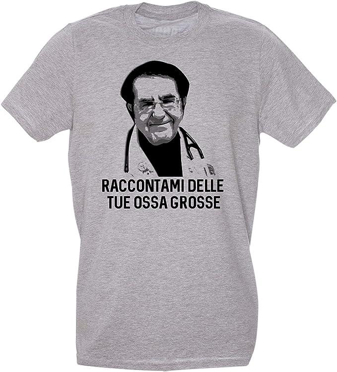 Dr Nozzy T Shirt Meme Raccontami delle tue Ossa Grosse Grafica Divertente sulle Frasi del dottor nowzaradan Choose ur Color