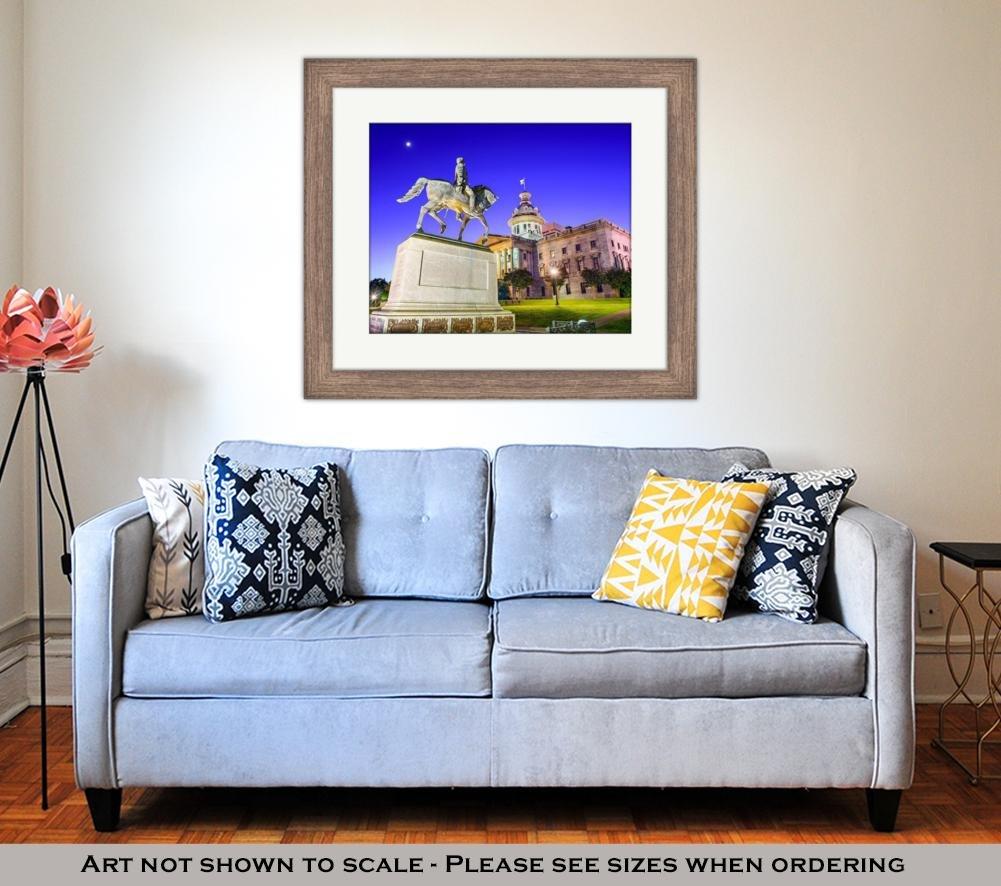 Amazon.com: Ashley Framed Prints Segovia Castle, Wall Art ...