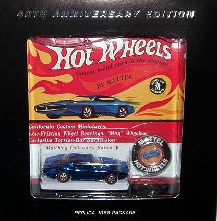 Amazon.com: Hot Wheels 40 aniversario personalizado Otto ...