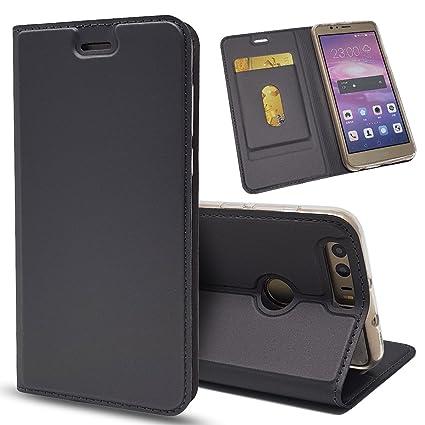 Para Huawei Honor 8 Funda, Cuero De La PU Magnético ...
