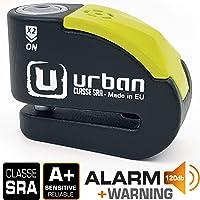 Urban Security UR10 Candado Antirrobo Moto Disco Alarma