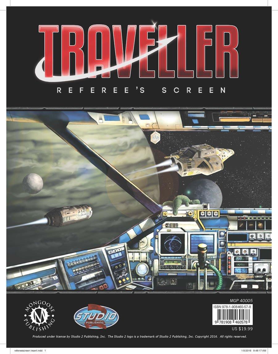 Traveller Referees MGP40005 Mongoose Publishing product image