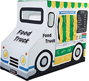 Pacific Play Tents 67100 Kids Cotton Canvas Food Truck Playhouse, 50