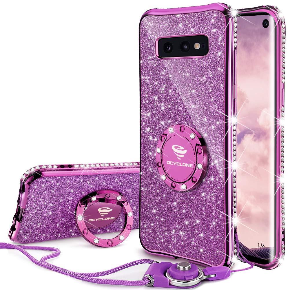 Funda Para Samsung S10e Glitter Con Pie Ocyclone (7p8l787s)