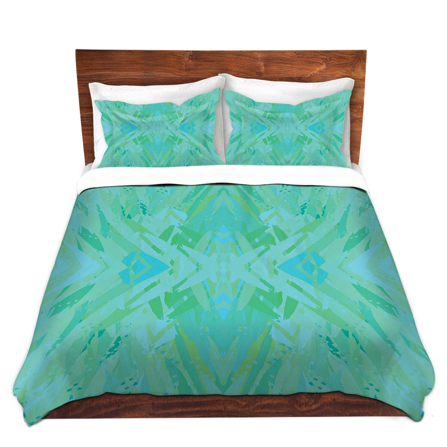 DiaNoche Designs Mingo Love Bedroom and Bedding Ideas Cover, 7 Queen Duvet Sham Set
