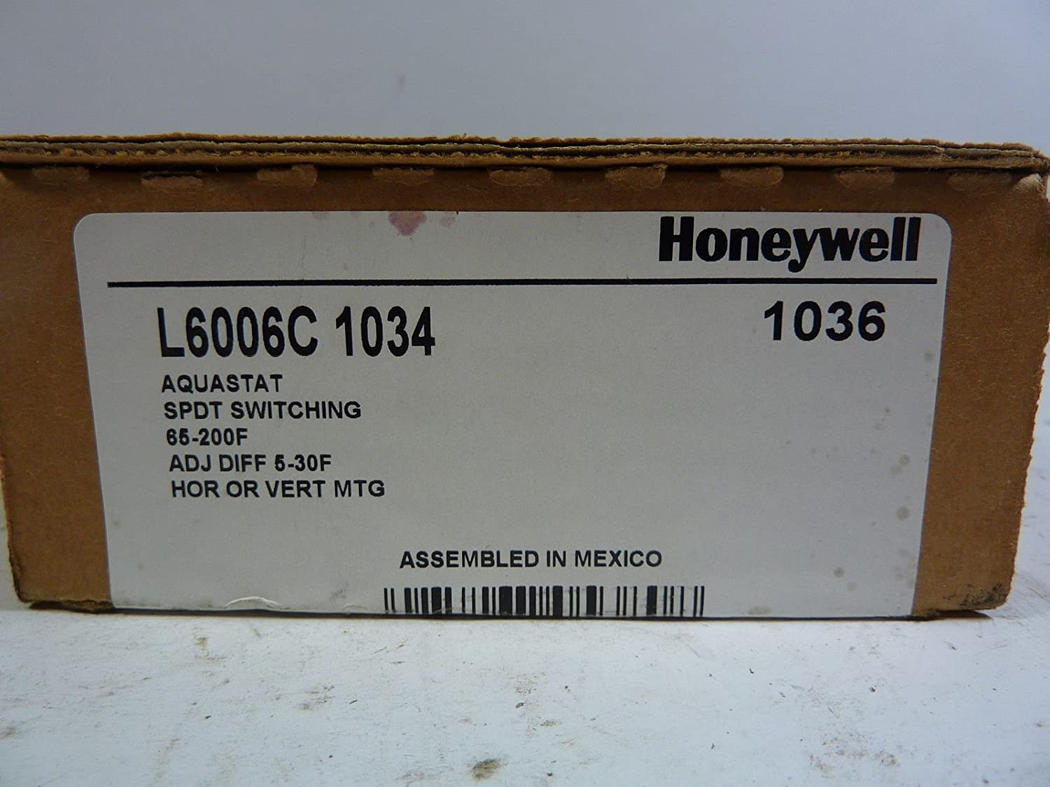 Honeywell L6006c 1034 Aquastat Controller Amazon Com Industrial