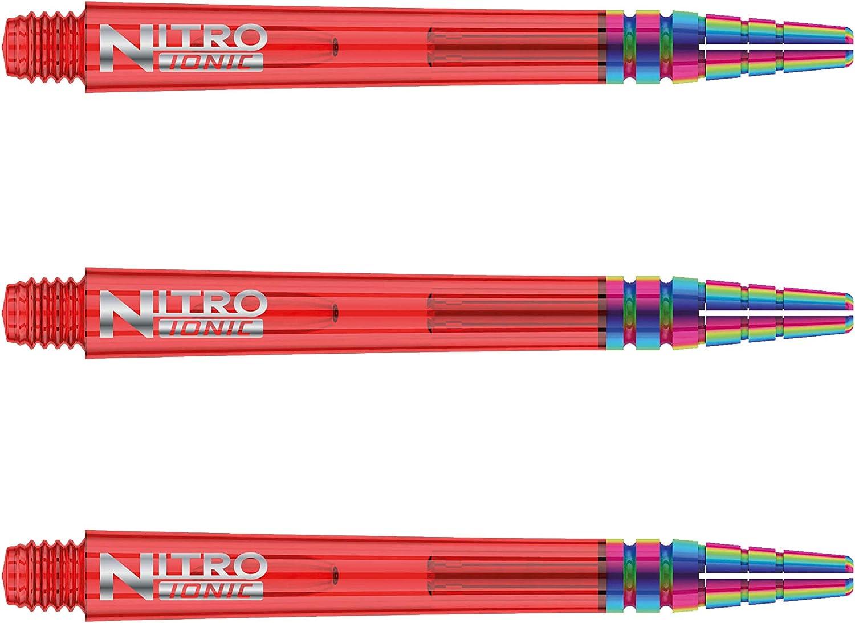 2 Ensembles par Paquet RED DRAGON Nitrotech Ionic Tige de Fl/échettes 6 Tiges de Flechettes au Total
