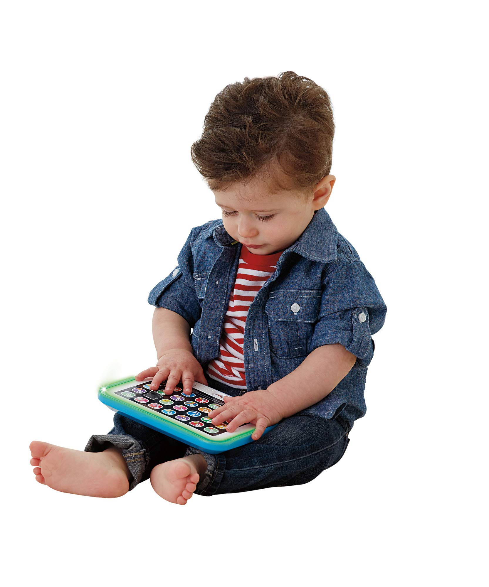 Fisher-Price Laugh & Learn Smart Stages Tablet, Blue by Fisher-Price (Image #2)