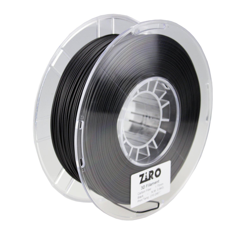 Ziro Filamento de impresora 3D de fibra de carbono PLA 1,75 mm ...