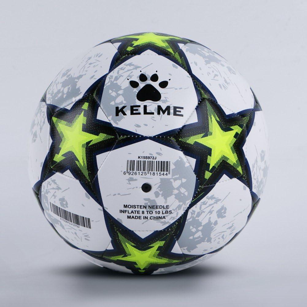 KELME Balón de fútbol Competencia formación, Verde: Amazon.es ...