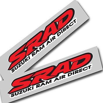 Ziondesigns Suzuki Srad Rot Gsxr Srad Aufkleber Grafiken X 2