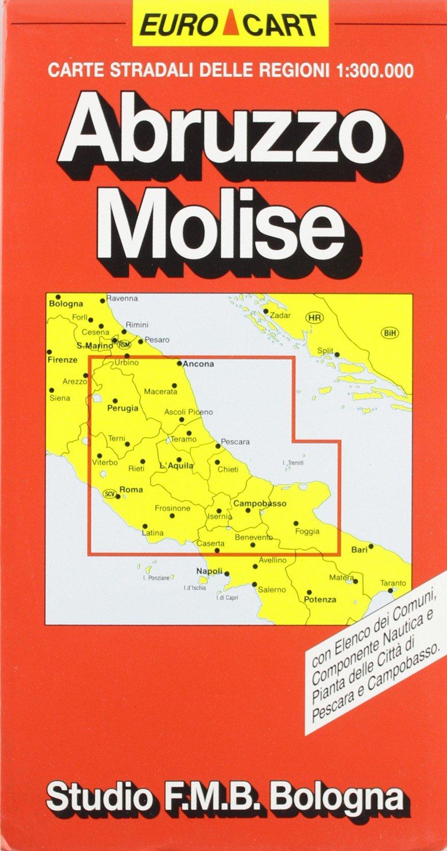 Abruzzo Molise Con Elenco Dei Comuni Componente Nautica E