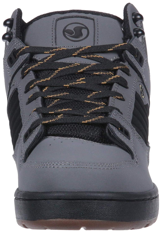DVS Shoes Militia Black/Gold Boot Herren Sneaker Gargoyle Black/Gold Militia Nubuck Ettala 5a30a2