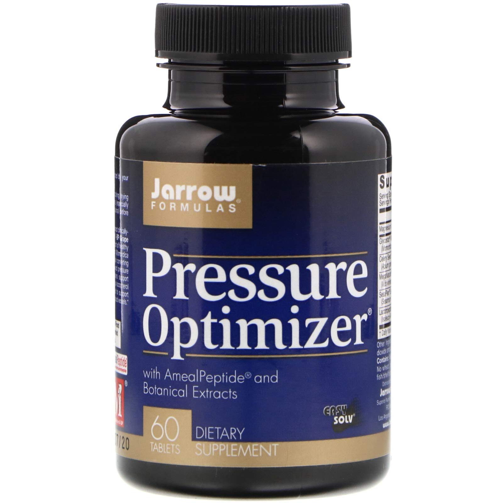 Jarrow Formulas, Pressure Optimizer, 60 Tablets by J.Formula Supplements (Image #1)