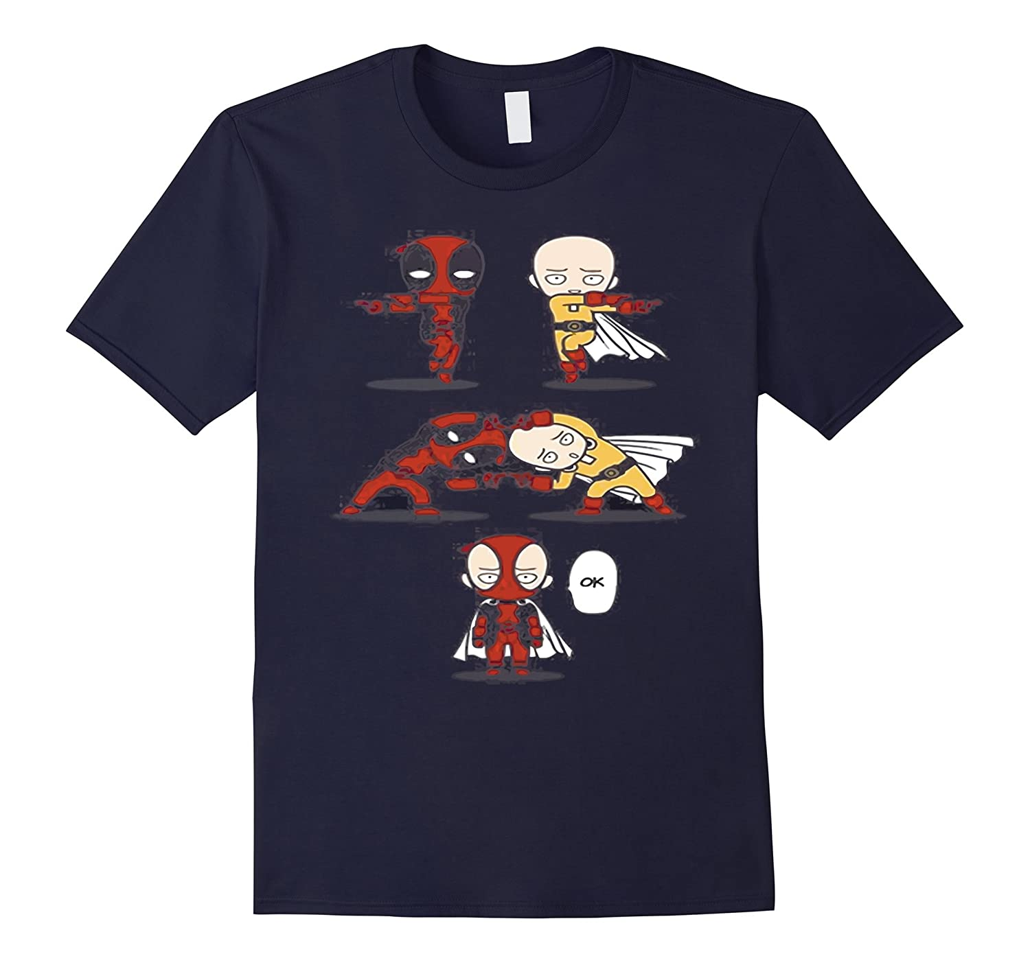 One Punch Anime SAITAMA T-Shirt2-Art