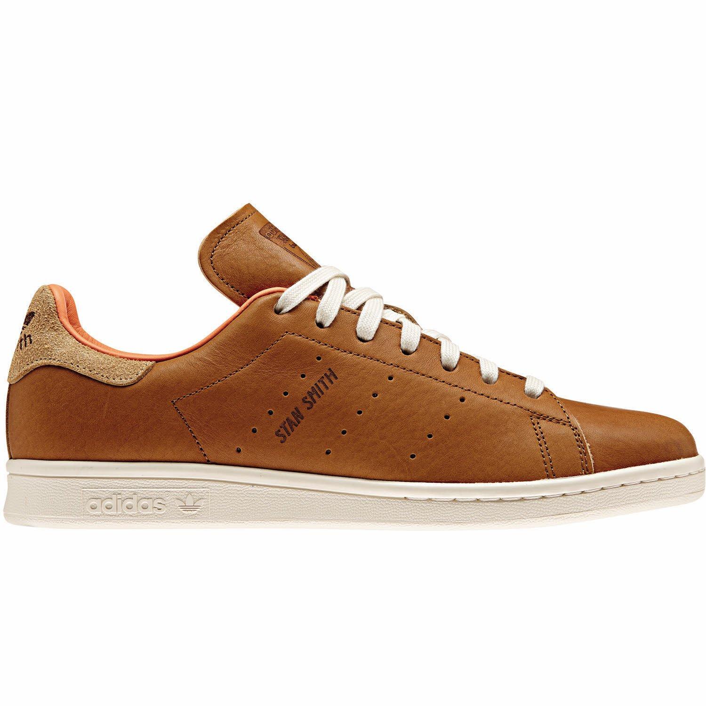 super popular b4ea4 0f1c2 adidas Shoes - Stan Smith Brown/Orange/White Size: 39 1/3 ...