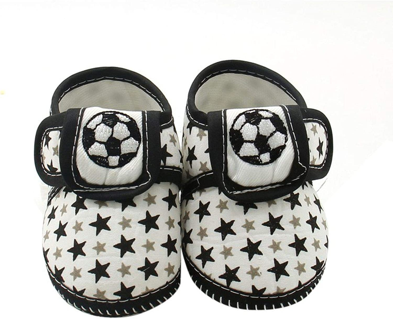 Soft Sole Baby Shoes Newborn Girls Boys Cute Star Cotton First Walkers Toddler Moccasins Black Red Blue