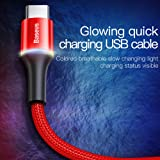 USB Type C Cable LED Lighting, Baseus USB C Cable
