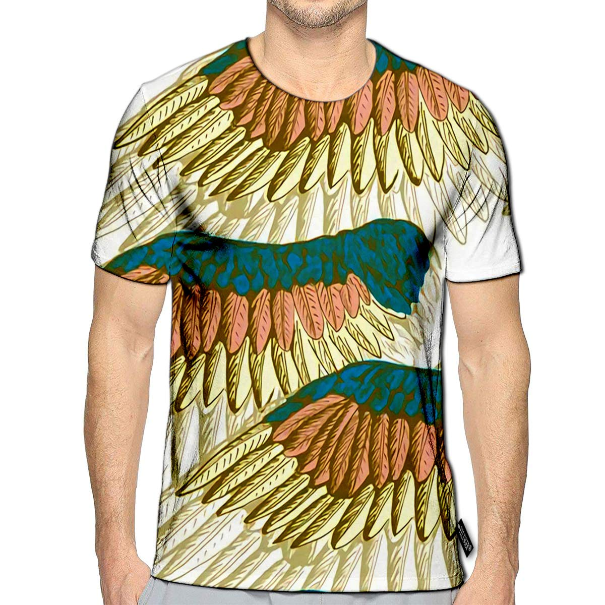 3D Printed T Shirts Zebra Animal Casual Mens Hipster Top Tees