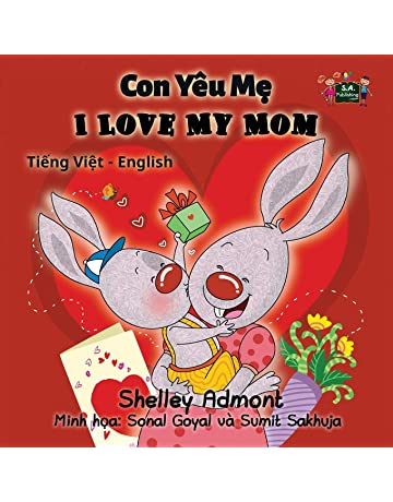I Love My Mom (vietnamese baby book, bilingual vietnamese english books,):