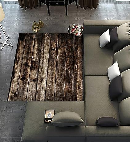 Floor Rugs MatCustom Rustic Old Barn Wood Area Carpet Modern For Home