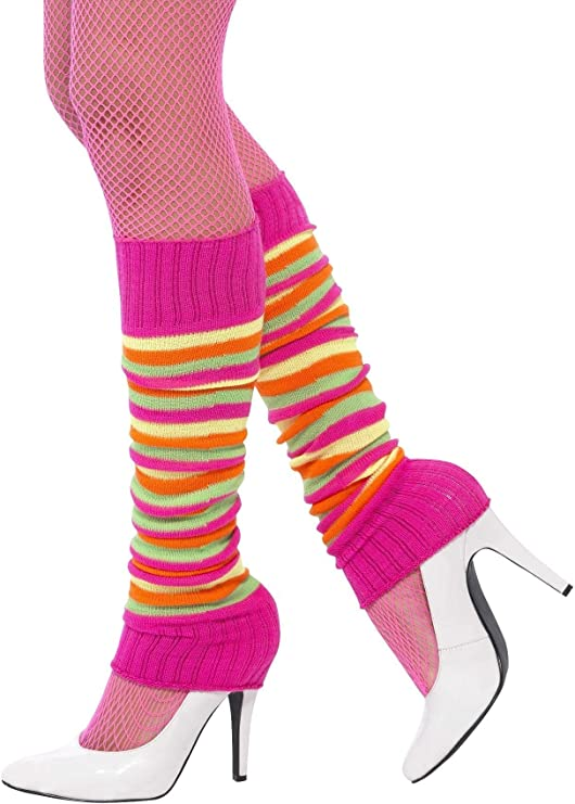 Vintage Style Socks- Knee High, Bobby, Anklet Smiffys Unisex Adult Leg warmers $15.49 AT vintagedancer.com