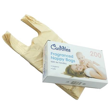 200 piezas diseño de Sally Moret de pañales de bolso de mano y de basuras para ...