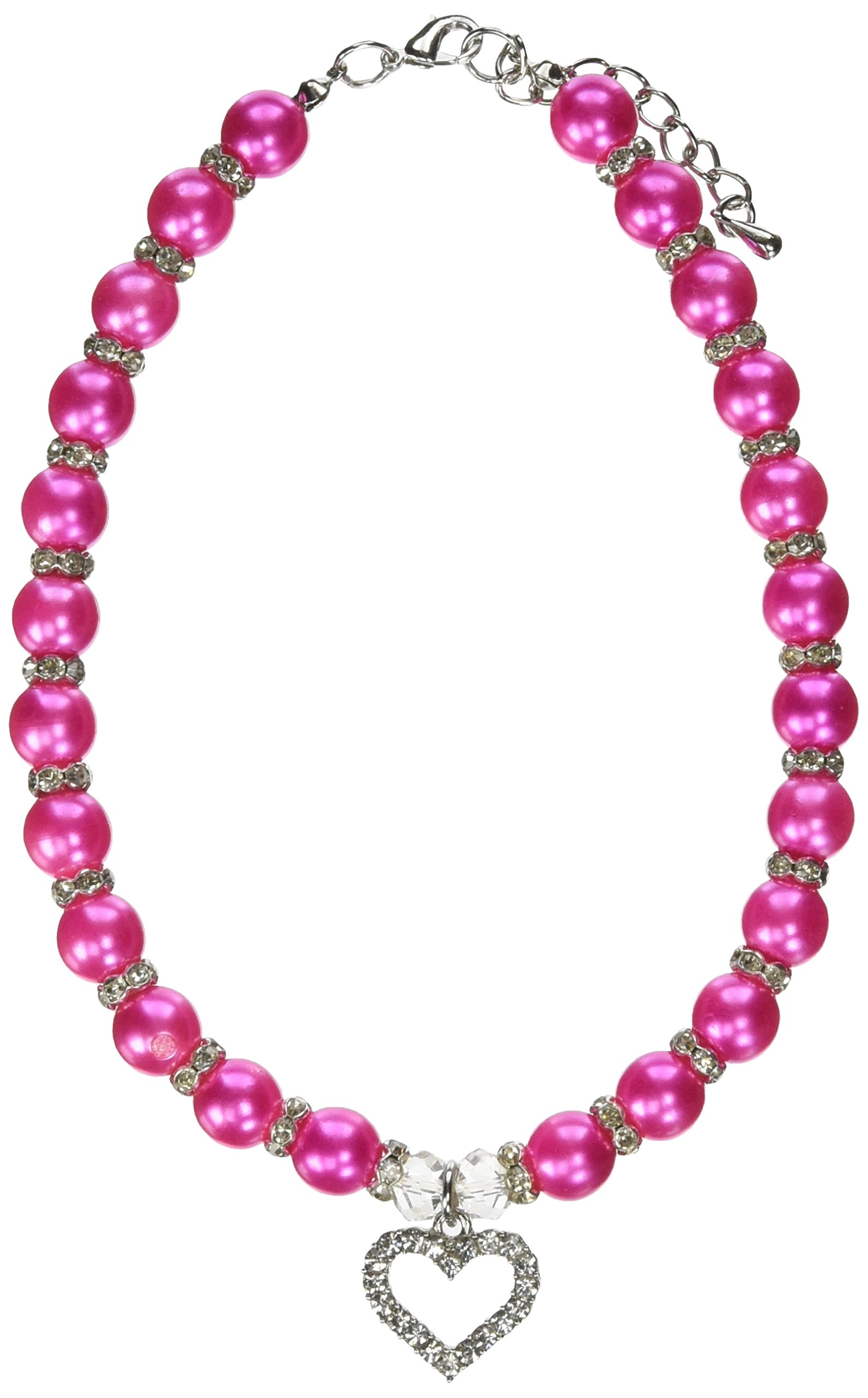 Mirage Pet Products 6 to 8-Inch Glamour Bits Pet Jewelry, Small, Pink