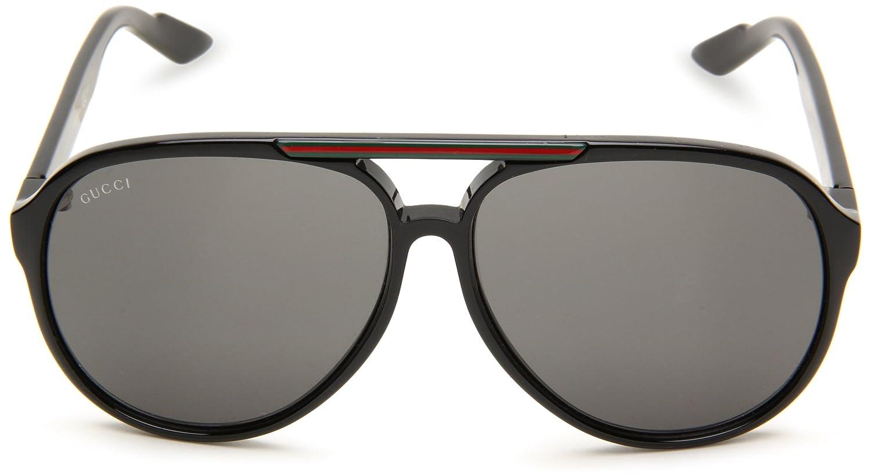 Gucci - Gafas de sol Aviador GUCCI 1627 S GG 1627 S R6, D28  Amazon.es   Ropa y accesorios 1f7778634c