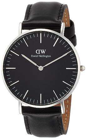 5e208d3847 [ダニエル・ウェリントン]DanielWellington 腕時計 Classic Black Sheffield ブラック文字盤  DW00100145 【並行